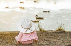 λίμνη μωρών Στοκ Εικόνες
