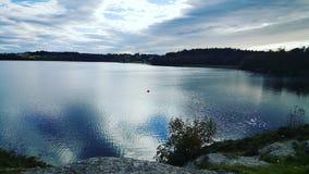 λίμνη σκανδιναβικά Στοκ εικόνες με δικαίωμα ελεύθερης χρήσης