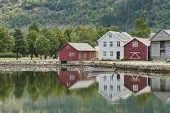 λίμνη σπιτιών Στοκ Εικόνες