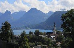λίμνη της Αυστρίας Στοκ Φωτογραφία