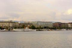 λίμνη της Γενεύης Στοκ εικόνες με δικαίωμα ελεύθερης χρήσης
