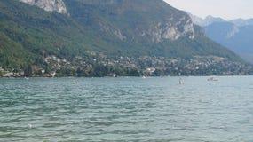 λίμνη του Annecy Γαλλία Στοκ εικόνα με δικαίωμα ελεύθερης χρήσης