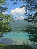 λίμνη του Annecy Στοκ φωτογραφίες με δικαίωμα ελεύθερης χρήσης