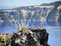 λίμνη Όρεγκον ΗΠΑ 2008 κρατήρων Στοκ Εικόνα