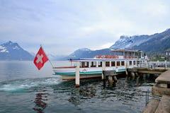λίμνη luzern Στοκ φωτογραφία με δικαίωμα ελεύθερης χρήσης