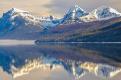 λίμνη mcdonald Στοκ Φωτογραφία