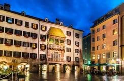 Ίνσμπρουκ, Αυστρία Στοκ φωτογραφία με δικαίωμα ελεύθερης χρήσης