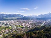 Ίνσμπρουκ στο Τύρολο, Αυστρία Στοκ φωτογραφία με δικαίωμα ελεύθερης χρήσης