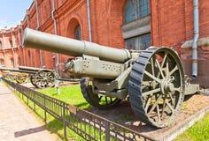 8-ίντσα βρετανικό howitzer πολιορκίας χαρακτηρίζει VI (1917) Στοκ Φωτογραφίες