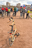 Δίπλωμα του ποδηλάτου Strida Στοκ φωτογραφία με δικαίωμα ελεύθερης χρήσης