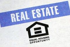 ίση ευκαιρία κατοικίας στοκ φωτογραφίες