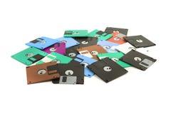 δίσκοι χρώματος fdd που απομονώνονται Στοκ Φωτογραφίες