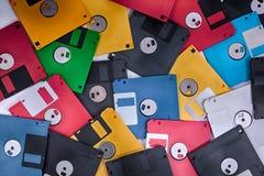 δίσκοι χρώματος fdd ως υπόβαθρο ιστορίας Στοκ Φωτογραφίες