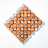 δίσκος εγγράφου αυγών για την αγορά Στοκ φωτογραφία με δικαίωμα ελεύθερης χρήσης