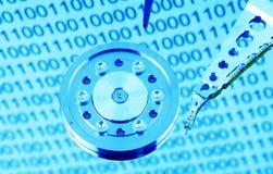 δίσκος υπολογιστών σκ&lambd Στοκ Εικόνες