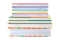 ίσος σωρός βιβλίων Στοκ εικόνες με δικαίωμα ελεύθερης χρήσης