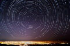 Ίχνη αστεριών Σίλικον Βάλεϋ στοκ φωτογραφία