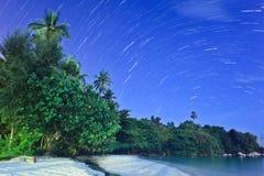 ίχνη αστεριών Στοκ Φωτογραφία