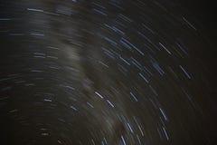 ίχνη αστεριών Στοκ εικόνα με δικαίωμα ελεύθερης χρήσης