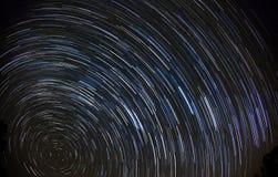 ίχνη αστεριών 90 λεπτών Στοκ Εικόνες