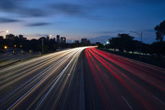 Ίχνη αυτοκινήτων Στοκ Εικόνα
