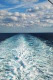 ίχνη θάλασσας Στοκ Εικόνες