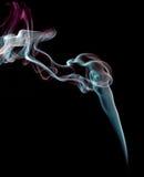 ίχνη καπνού θυμιάματος Στοκ φωτογραφίες με δικαίωμα ελεύθερης χρήσης