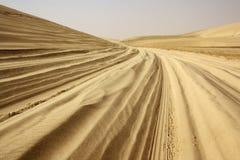 Ίχνη σαφάρι ερήμων Στοκ Φωτογραφίες