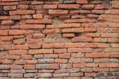 Ίχνη σπασίματος των παλαιών τοίχων πόλεων Στοκ Εικόνες
