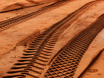 ίχνη τεχνικών άμμου στοκ φωτογραφία