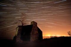 Ίχνος αστεριών παραλιών του Μπράιτον Στοκ Φωτογραφίες