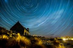 Ίχνος αστεριών Στοκ εικόνες με δικαίωμα ελεύθερης χρήσης
