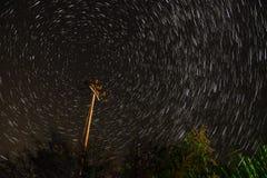 Ίχνος αστεριών Στοκ φωτογραφίες με δικαίωμα ελεύθερης χρήσης