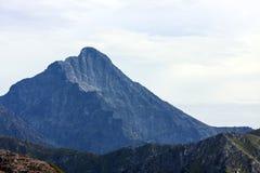 Ίχνος βουνών στο Kasprowy Στοκ εικόνα με δικαίωμα ελεύθερης χρήσης