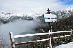 ίχνος βουνών Στοκ εικόνες με δικαίωμα ελεύθερης χρήσης