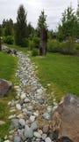 Ίχνος βράχου στη σειρά μαθημάτων Στοκ εικόνες με δικαίωμα ελεύθερης χρήσης