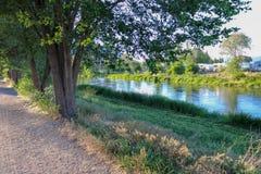 Ίχνος κάτω από τα δέντρα Στοκ φωτογραφία με δικαίωμα ελεύθερης χρήσης