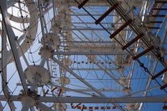 Ίχνος και φωτογραφική διαφάνεια ουρανού στη Πόλη της Οκλαχόμα, ΕΝΤΆΞΕΙ Στοκ Φωτογραφία