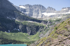 Ίχνος παγετώνων Grinnell - εθνικό πάρκο παγετώνων Στοκ εικόνα με δικαίωμα ελεύθερης χρήσης