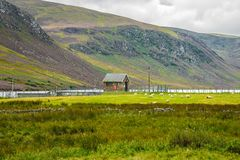 Ίχνος πεζοπορίας στο εθνικό πάρκο Cairngorms Angus, Σκωτία, UK στοκ φωτογραφία με δικαίωμα ελεύθερης χρήσης