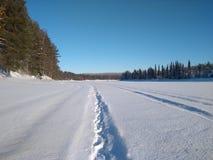 Ίχνος σκι στοκ εικόνες με δικαίωμα ελεύθερης χρήσης