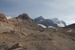 Ίχνος στον παγετώνα Στοκ φωτογραφίες με δικαίωμα ελεύθερης χρήσης