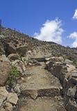 Ίχνος στο ηφαίστειο Maui, Χαβάη Haleakala Στοκ φωτογραφία με δικαίωμα ελεύθερης χρήσης