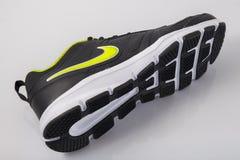 Ίχνος της Nike πάνινων παπουτσιών Στοκ εικόνα με δικαίωμα ελεύθερης χρήσης