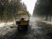 Ίχνος τουριστών σε Morskie Oko Στοκ φωτογραφίες με δικαίωμα ελεύθερης χρήσης