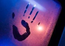 Ίχνος του χεριού Στοκ φωτογραφία με δικαίωμα ελεύθερης χρήσης