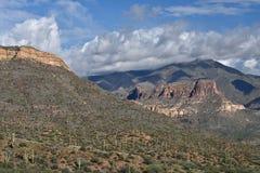 Ίχνος Apache, εθνικό δρυμός Tonto Στοκ Φωτογραφία