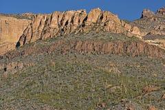 Ίχνος Apache, εθνικό δρυμός Tonto Στοκ Εικόνες