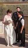 Ίδιοι συνεργάτες γάμου φύλων Στοκ εικόνες με δικαίωμα ελεύθερης χρήσης