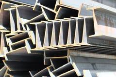 Ίδρυμα ακτίνων σχεδιαγραμμάτων μετάλλων για τις δομές κτηρίου Στοκ Εικόνα
